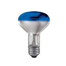CONC R80 BLUE 60W 230V E27