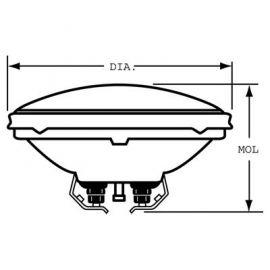 41667 650W 120V MFL Srew DWE PAR36