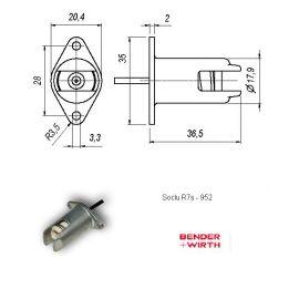 SOCLU R7s COD 952