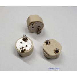 SOCLU G6,35  GY6,35  GZ6,35  screw - contact surub, COD 913