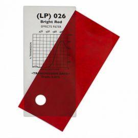 026 Bright Red -  7,62m x 1,22m