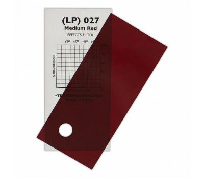 027 Medium Red -  7,62m x 1,22m