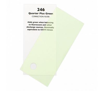 246 Quarter Plus Green -  7,62m x 1,22m
